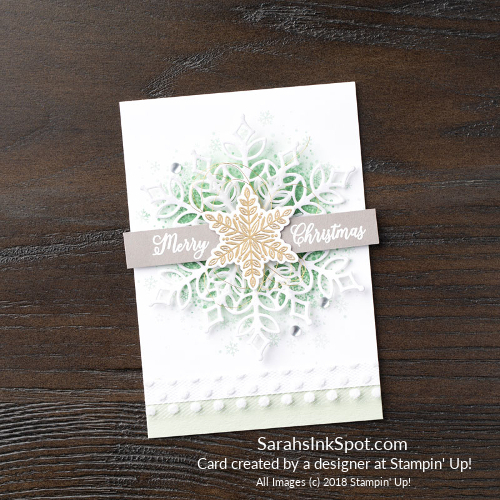 Stampin-Up-2018-Snowflake-Showcase-Snow-Is-Glistening-Tree-Snowfall-Thinlits-White-Snowflake-Christmas-Holiday-Card-Idea-Sarah-Wills-Sarahsinkspot-Stampinup-149742-149692