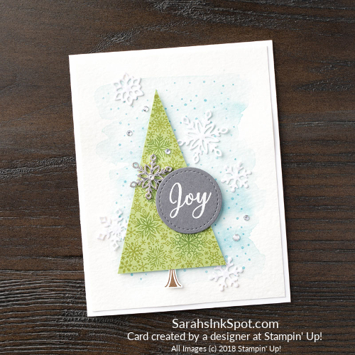 Stampin-Up-2018-Snowflake-Showcase-Snow-Is-Glistening-Tree-Snowflake-Christmas-Holiday-Joy-Card-Idea-Sarah-Wills-Sarahsinkspot-Designed-Stampinup-149742-149692-149620