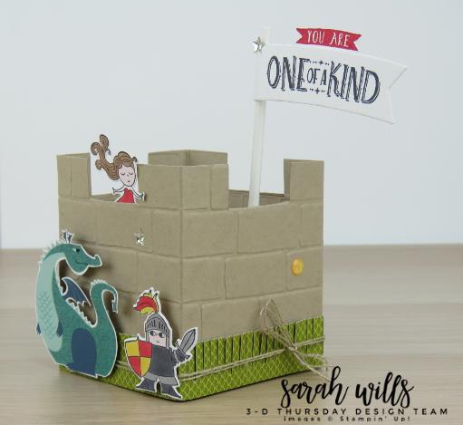 Stampin-Up-3D-Thursday-Myths-Magic-Castle-Treat-Box-Dragon-Knight-Wizard-Favor-Birthday-Valentine-Magical-Mates-Day-Idea-Sarah-Wills-Sarahsinkspot-Stampinup-Side