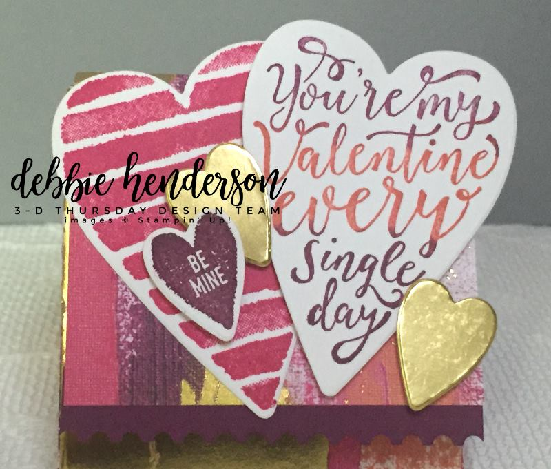 Stampin-Up-3D-Thursday-Painted-With-Love-Triangle-Treat-Box-Sure-Do-Love-You-Heart-Happiness-Lots-to-Love-Framelits-Idea-Sarah-Wills-Sarahsinkspot-Stampinup-