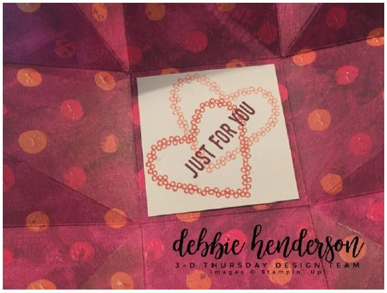 Stampin-Up-3D-Thursday-Painted-With-Love-Triangle-Treat-Box-Sure-Do-Love-You-Heart-Happiness-Lots-to-Love-Framelits-Idea-Sarah-Wills-Sarahsinkspot-Stampinup-Inside