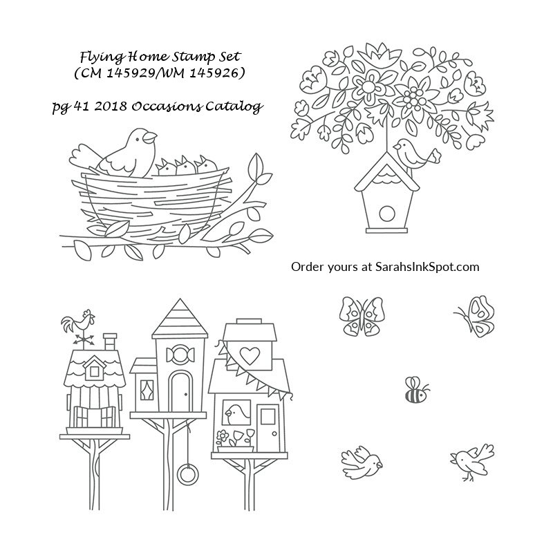 Stampin-Up-Flying-Home-Stamp-Set-Bird-Cardinal-House-Nest-Tree-Table-Occasions-Catalog-Sarah-Wills-Sarahsinkspot-Stampinup-145929-145926