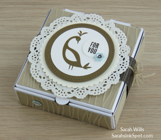 Stampin-Up-Inky-Friends-Blog-Saleabration-SAB-Hop-Beautiful-Peacock-Gift-Treat-Mini-Pizza-Box-Idea-Sarah-Wills-Sarahsinkspot-Stampinup-Bird-Doilies-Harvest-Main2