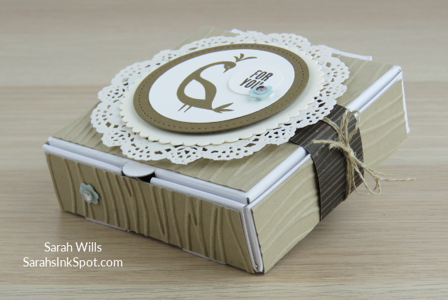 Stampin-Up-Inky-Friends-Blog-Saleabration-SAB-Hop-Beautiful-Peacock-Gift-Treat-Mini-Pizza-Box-Idea-Sarah-Wills-Sarahsinkspot-Stampinup-Bird-Doilies-Harvest-Side