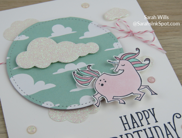 Stampin-Up-Magical-Day-Bundle-Mates-Unicorn-Myths-Magic-DSP-Glimmer-Clouds-Blends-Kids-Girl-Birthday-Card-Idea-Sarah-Wills-Sarahsinkspot-Stampinup-Scene
