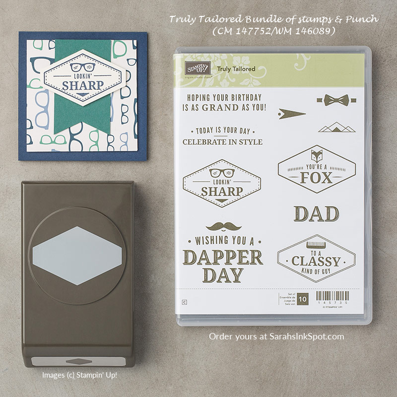 Stampin-Up-3D-Occasions-Catalog-True-Gentleman-Truly-Tailored-Masculine-Stamp-Set-Bundle-Punch-Sarah-Wills-Sarahsinkspot-Stampinup-147752-146089-145667-145735-145732