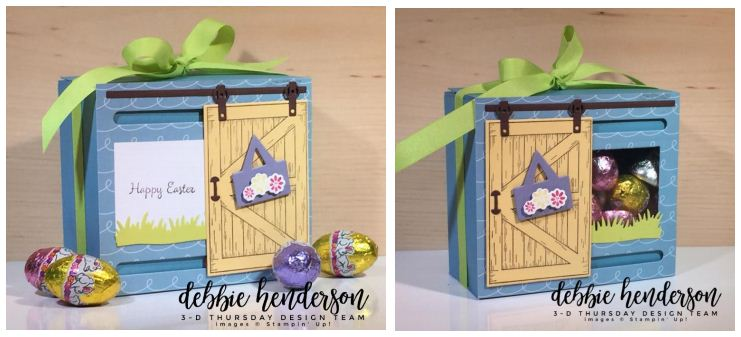 Stampin-Up-3D-Thursday-Sliding-Door-Easter-Treat-Window-Box-Barn-Door-Bundle-Sliding-Door-Framelits-Egg-Occasions-Catalog-2018-Idea-Sarah-Wills-Sarahsinkspot-Stampinup-Side-by-Side