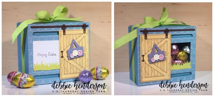 Stampin-Up-3D-Thursday-Sliding-Door-Easter-Treat-Window-Box-Barn-Door-Bundle-Sliding-Door-Framelits-Egg-Occasions-Catalog-2018-Idea-Sarah-Wills-Sarahsinkspot-Stampinup-Side-by-Side