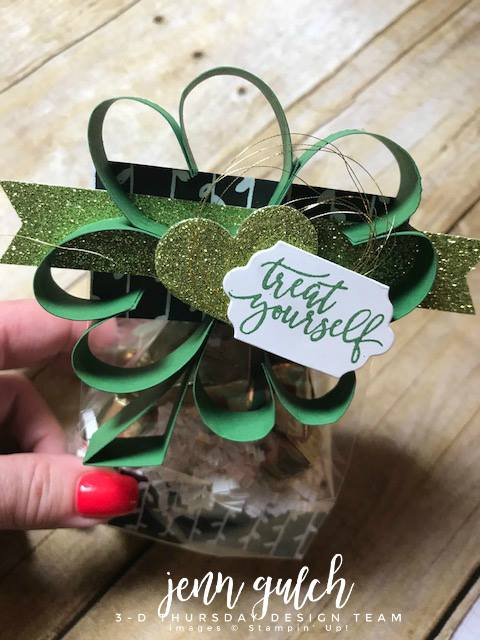 Stampin-Up-3D-Thursday-St-Patricks-Pattys-Gusseted-Treat-Bag-Idea-PIcture-Perfect-Glimmer-Petal-Passion-Shreddie-Sarah-Wills-Sarahsinkspot-Stampinup-1