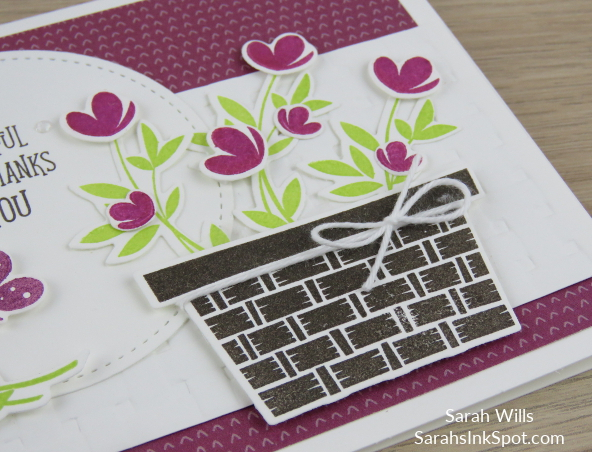 Stampin-Up-Inky-Friends-Blog-Hop-Occasions-Catalog-2018-Picnic-With-You-Basket-Builder-Dies-Weave-Embossing-Card-Idea-Sarah-Wills-Sarahsinkspot-Stampinup-FlowerBasket