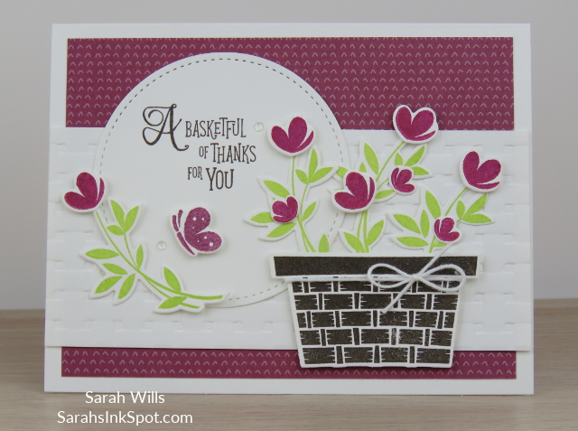 Stampin-Up-Inky-Friends-Blog-Hop-Occasions-Catalog-2018-Picnic-With-You-Basket-Builder-Dies-Weave-Embossing-Card-Idea-Sarah-Wills-Sarahsinkspot-Stampinup-Main