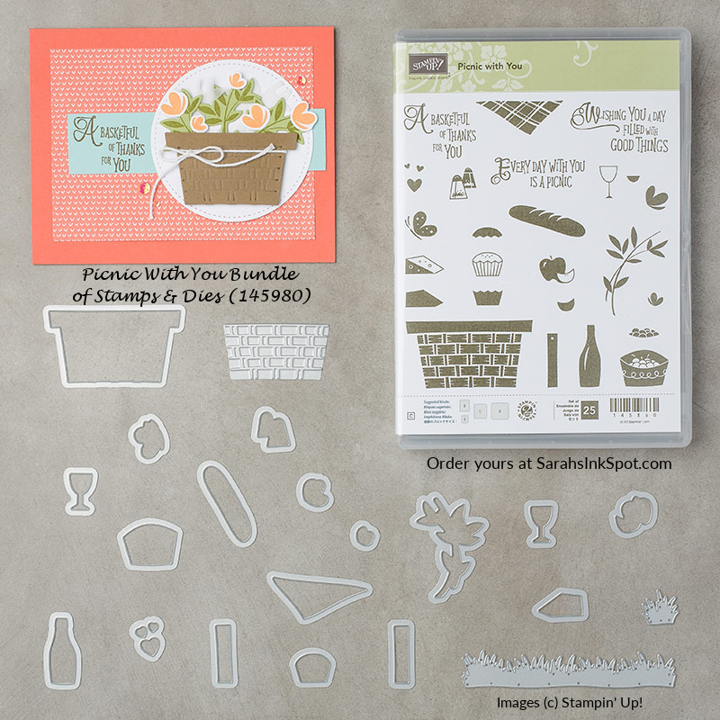 Stampin-Up-Picnic-With-You-Stamp-Set-Bundle-Basket-Builder-Framelits-Dies-Occasions-Catalog-2018-Sarah-Wills-Sarahsinkspot-Stampinup-145980-145860-145658