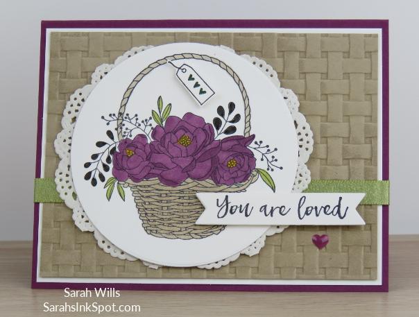 Stampin-Up-Blossoming-Basket-Weave-Embossing-Folder-Doily-Saleabration-2018-Card-Idea-Sarah-Wills-Sarahsinkspot-Stampinup-