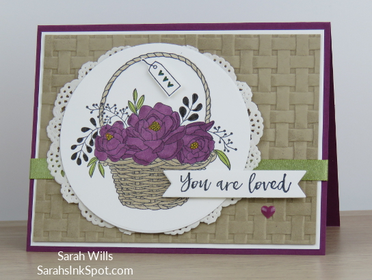 Stampin-Up-Blossoming-Basket-Weave-Embossing-Folder-Doily-Saleabration-2018-Card-Idea-Sarah-Wills-Sarahsinkspot-Stampinup-Main2