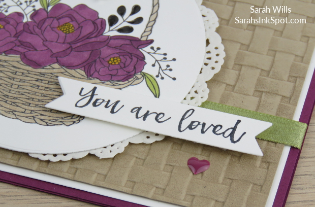 Stampin-Up-Blossoming-Basket-Weave-Embossing-Folder-Doily-Saleabration-2018-Card-Idea-Sarah-Wills-Sarahsinkspot-Stampinup-Tag