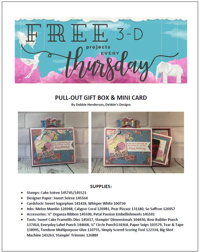 Stampin-Up-3D-Thursday-Cake-Soiree-Bundle-Sweet-Cake-Pull-Out-Gift-Box-DSP-Idea-Sarah-Wills-Sarahsinkspot-Stampinup-Cover