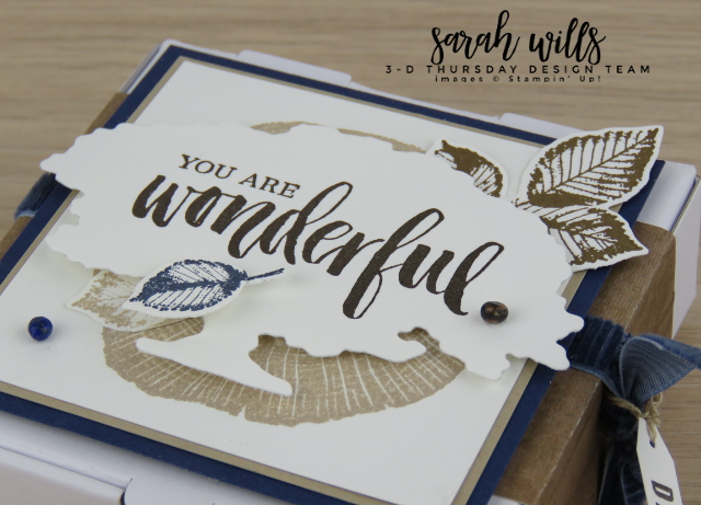 Stampin-Up-2018-2019-Mini-Pizza-Box-Rooted-in-Nature-Bundle-Natures-Poem-Framelits-Dies-Make-a-Difference-Sarah-Wills-Idea-Sarahsinkspot-Stampinup-closeup