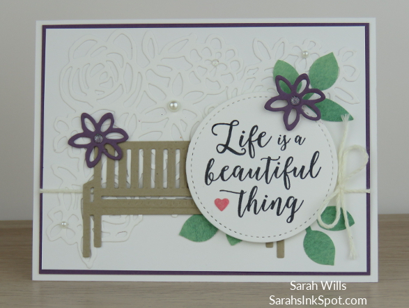 Stampin-Up-2018-Annual-Catalog-Springtime-Impressions-Pretty-Park-Bench-Flower-Colorful-Seasons-Card-Idea-Sarah-Wills-Sarahsinkspot-Stampinup-Main