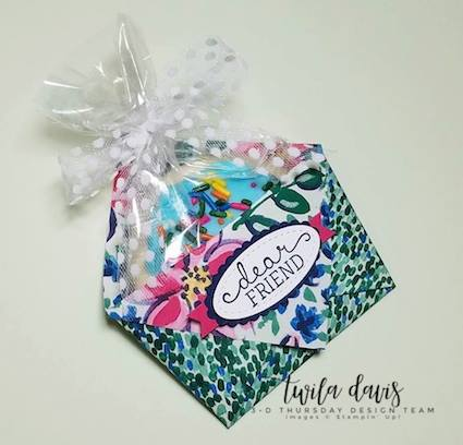 Stampin-Up-3D-Thursday-Origami-Treat-Holder-Idea-Garden-Impressions-DSP-Birthday-Blooms-Cookie-Sarah-Wills-Sarahsinkspot-Stampinup-Side