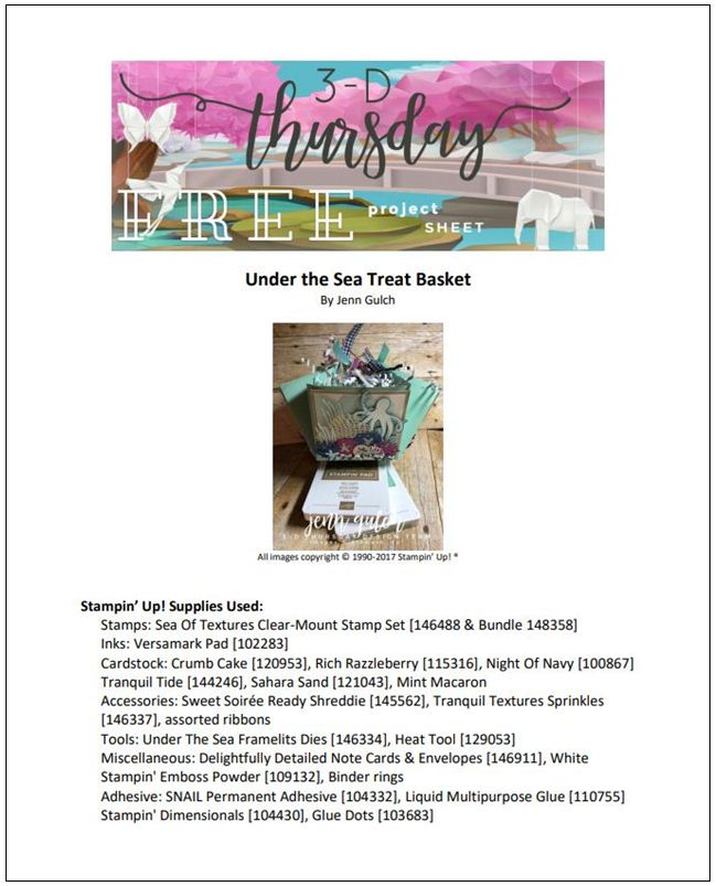 Stampin-Up-3D-Thursday-Under-the-Sea-of-Textures-Bundle-Octopus-Sprinkles-Treat-Basket-Idea-Sarah-Wills-Sarahsinkspot-Stampinup-Cover