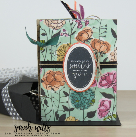 Stampin-Up-Envelope-Punch-Board-Mini-Scrapbook-Album-Box-Carousel-3D-Idea-Detailed-With-Love-Share-What-You-Love-Delightfully-Detailed-Trio-Sarah-Wills-Sarahsinkspot-Stampinup-Standing