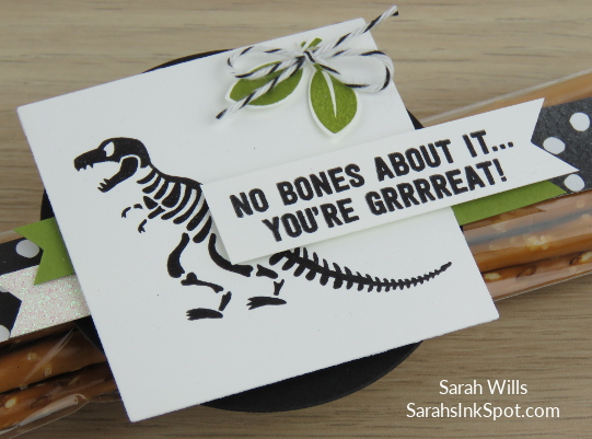 Stampin-Up-No-Bones-About-It-Dinosaur-TRex-Skeleton-Kids-Birthday-Card-Party-Favor-Idea-CAS-Sarah-Wills-Sarahsinkspot-Stampinup-skeleton-closeup