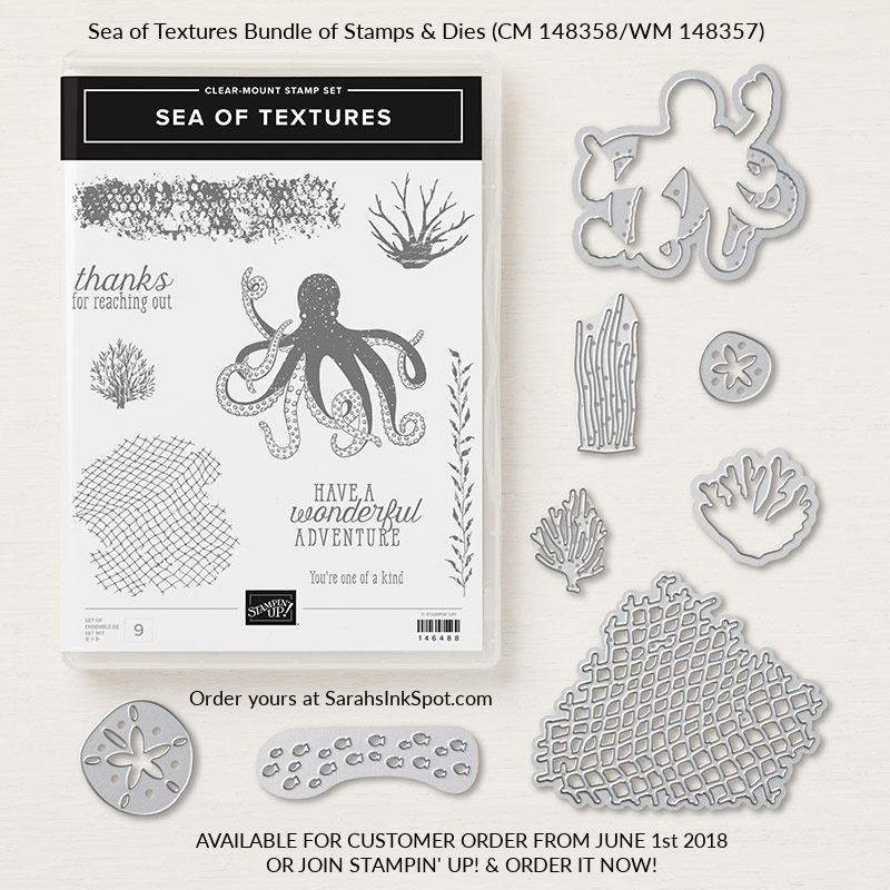 Stampin-Up-Under-the-Sea-of-Textures-Bundle-Octopus-Net-Fish-Weed-Sarah-Wills-Sarahsinkspot-Stampinup-148358-148357-146488-146485-146334-May