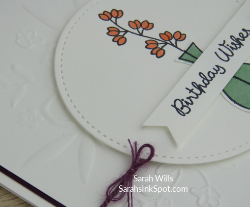 Stampin-Up-2018-Varied-Vases-Bundle-Vases-Builder-Punch-Lovely-Floral-Birthday-Card-Idea-Sarah-Wills-Sarahsinkspot-Stampinup-Bow