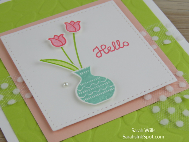 Stampin-Up-2018-Varied-Vases-Bundle-Vases-Builder-Punch-Petal-Burst-Hello-Tulip-Card-Idea-Sarah-Wills-Sarahsinkspot-Stampinup-Stamped-Panel