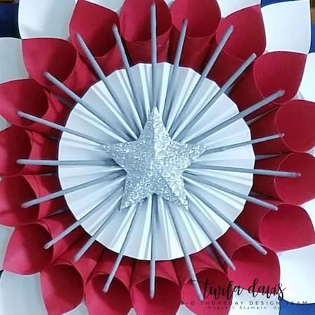 Stampin-Up-3D-Thursday-Patriotic-Paper-Cone-Wreath-July-4th-Memorial-Day-Flag-Red-White-Blue-Home-Decor-Door-Idea-Sarah-Wills-Sarahsinkspot-Stampinup-Center