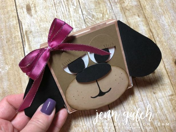 Stampin-Up-3D-Thursday-Puppy-Dog-Pizza-Box-Gift-Holder-Punch-Art-Idea-Sarah-Wills-Sarahsinkspot-Stampinup-Angled