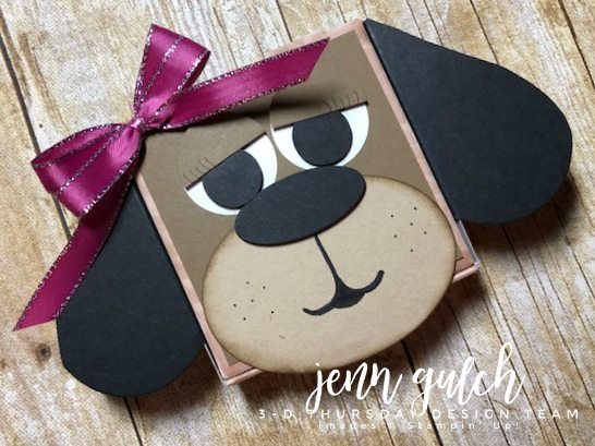 Stampin-Up-3D-Thursday-Puppy-Dog-Pizza-Box-Gift-Holder-Punch-Art-Idea-Sarah-Wills-Sarahsinkspot-Stampinup-Main