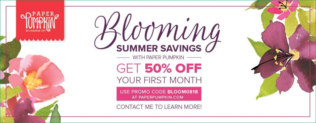 Stampin-Up-2018-August-Paper-Pumpkin-50%-Off-New-Subscriber-Sarah-Wills-Sarahsinkspot-Stampinup-On-Sale-Promotion-Special-Banner