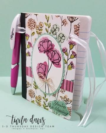 Stampin-Up-3D-Thursday-Altered-Mini-Composition-Book-Idea-Share-What-You-Love-What-You-Do-Artisan-Pearls-Notebook-Sarah-Wills-Sarahsinkspot-Stampinup-Side