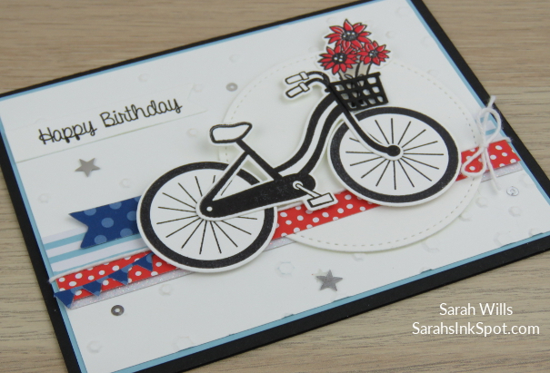 Stampin-Up-Bike-Ride-Build-a-Bike-Framelits-Dies-Patriotic-July-4th-Sequins-Card-Idea-Sarah-Wills-Sarahsinkspot-Stampinup-Flower-Basket-Side-2