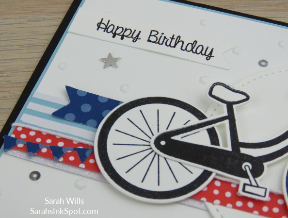 Stampin-Up-Bike-Ride-Build-a-Bike-Framelits-Dies-Patriotic-July-4th-Sequins-Card-Idea-Sarah-Wills-Sarahsinkspot-Stampinup-Wheel-2