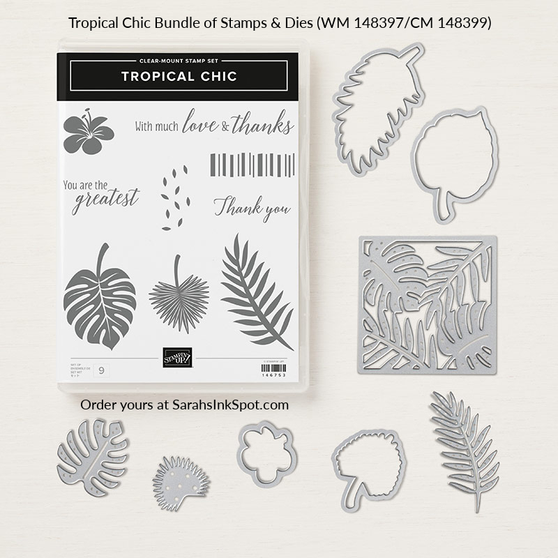 Stampin-Up-Tropical-Chic-Bundle-Thinlits-Stamp-Set-Hawaii-Fern-Beach-Flower-Sarah-Wills-Sarahsinkspot-Stampinup-148399-148397-146753-146750-146831