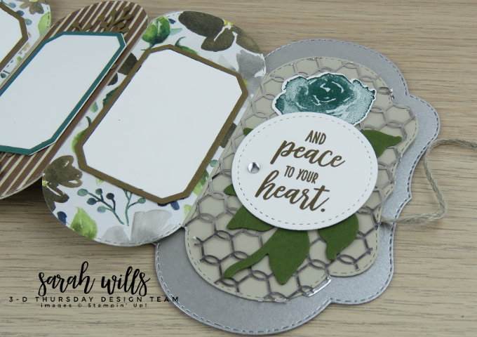 Stampin-Up-2018-Holiday-Catalog-3D-Stitched-Seasons-149013-First-Frost-Bundle-Frosted-Bouquet-Floral-Feathers-Galvanized-Concertina-Card-Album-Project-Sheet-Sarah-Wills-Sarahsinkspot-Stampinup-Back