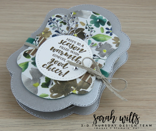 Stampin-Up-2018-Holiday-Catalog-3D-Stitched-Seasons-149013-First-Frost-Bundle-Frosted-Bouquet-Floral-Feathers-Galvanized-Concertina-Card-Album-Project-Sheet-Sarah-Wills-Sarahsinkspot-Stampinup-S2