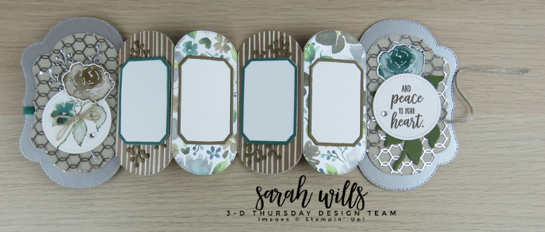 Stampin-Up-2018-Holiday-Catalog-3D-Stitched-Seasons-First-Frost-Bundle-Frosted-Bouquet-Floral-Feathers-Galvanized-Concertina-Card-Album-Project-Sheet-Sarah-Wills-Sarahsinkspot-Stampinup-Inside