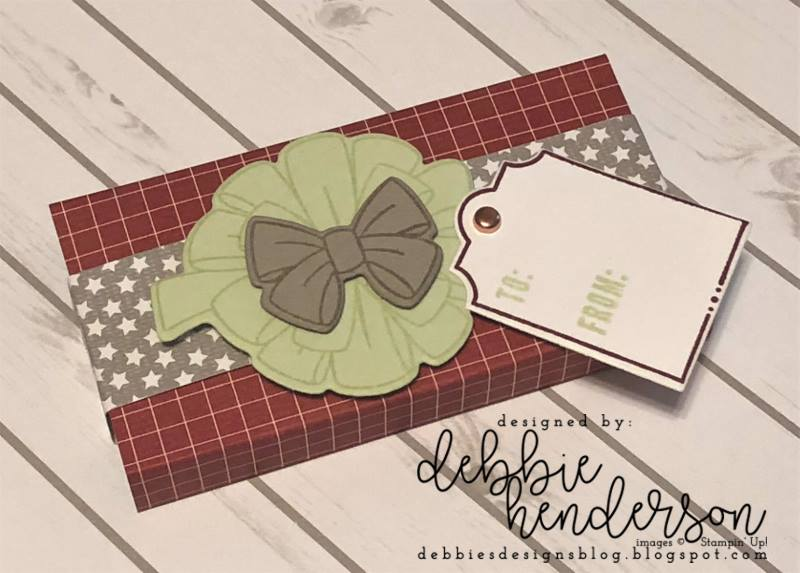 Stampin-Up-3D-Thursday-All-The-Presents-Bring-On-The-Presents-Festive-Farmhouse-DSP-Gift-Package-Gum-Holder-Teacher-Treat-Idea-Sarah-Wills-Sarahsinkspot-Stampinup-Main