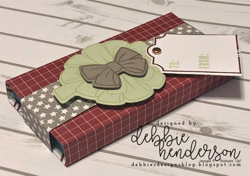 Stampin-Up-3D-Thursday-All-The-Presents-Bring-On-The-Presents-Festive-Farmhouse-DSP-Gift-Package-Gum-Holder-Teacher-Treat-Idea-Sarah-Wills-Sarahsinkspot-Stampinup-Side