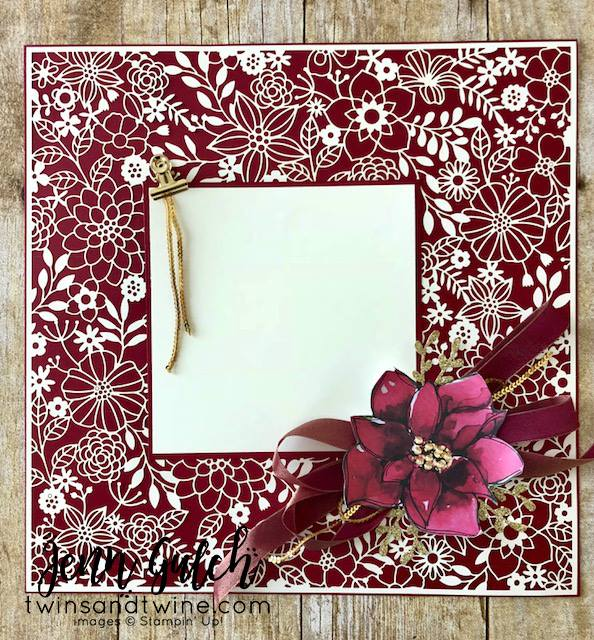 Stampin-Up-3D-Thursday-Home-Decor-Photo-Frame-Scrapbook-Page-Idea-Delightfully-Detailed-Laser-Cut-Timeless-Tidings-Project-Kit-Sarah-Wills-Sarahsinkspot-Stampinup-Project