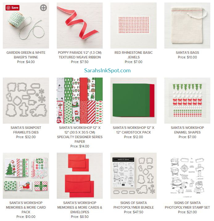 Stampin-Up-2018-Holiday-Catalog-Christmas-Holiday-Santas-Workshop-DSP-Memories-More-Card-Pack--Sarah-Wills-Sarahsinkspot-Stampinup-147905-147809-147755-147811
