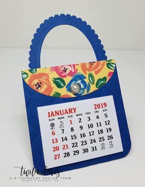 Stampin-Up-3D-Thursday-Mini-Calendar-Purse-Bag-Tufted-Zippies-Large-Calendar-New-Year-Teacher-Gift-Idea-Sarah-Wills-Sarahsinkspot-Stampinup-1