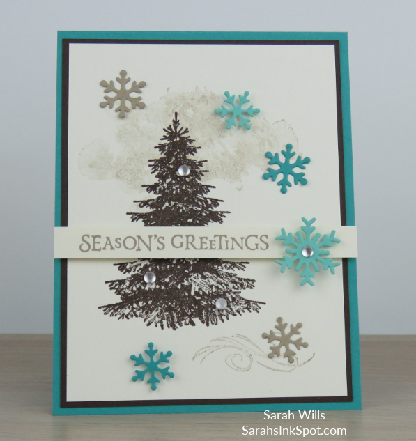 Stampin-Up-2018-Holiday-Snowflake-Showcase-Winter-Woods-Beautiful-Blizzard-Thinlits-Holiday-Christmas-Card-Idea-Sarah-Wills-Sarahsinkspot-Stampinup-Color-Fusers-Main