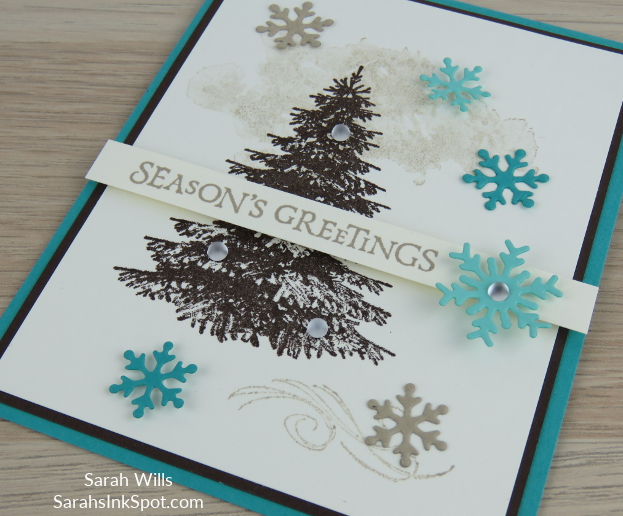 Stampin-Up-2018-Holiday-Snowflake-Showcase-Winter-Woods-Beautiful-Blizzard-Thinlits-Holiday-Christmas-Card-Idea-Sarah-Wills-Sarahsinkspot-Stampinup-Color-Fusers-Side