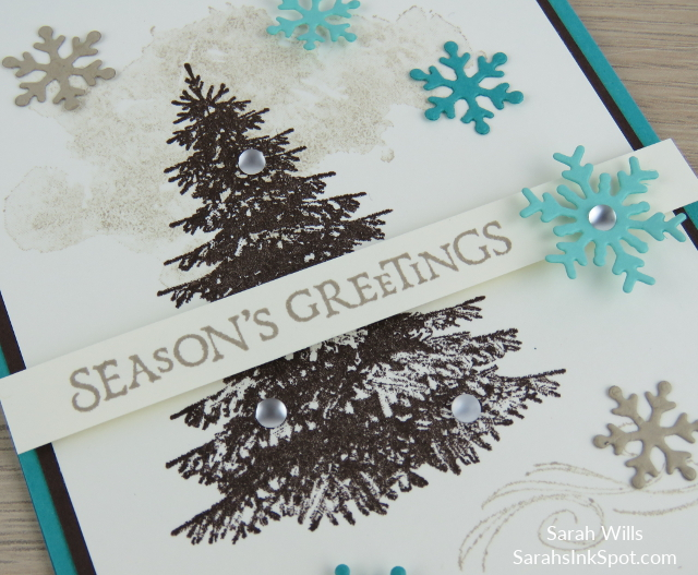 Stampin-Up-2018-Holiday-Snowflake-Showcase-Winter-Woods-Beautiful-Blizzard-Thinlits-Holiday-Christmas-Card-Idea-Sarah-Wills-Sarahsinkspot-Stampinup-Color-Fusers-Tree