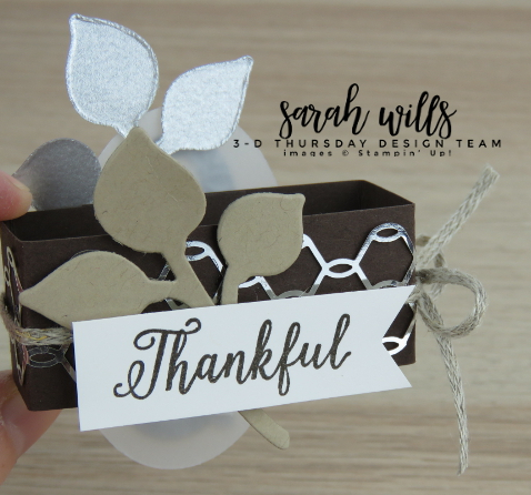 Stampin-Up-3D-Thursday-Envelobox-Ghirardelli-Thanksgiving-Dinner-Table-Favor-Envelope-Punch-Board-Falling-For-Leaves-Bundle-Frosted-Floral-Idea-Sarah-Wills-Sarahsinkspot-Stampinup-Belly-Band
