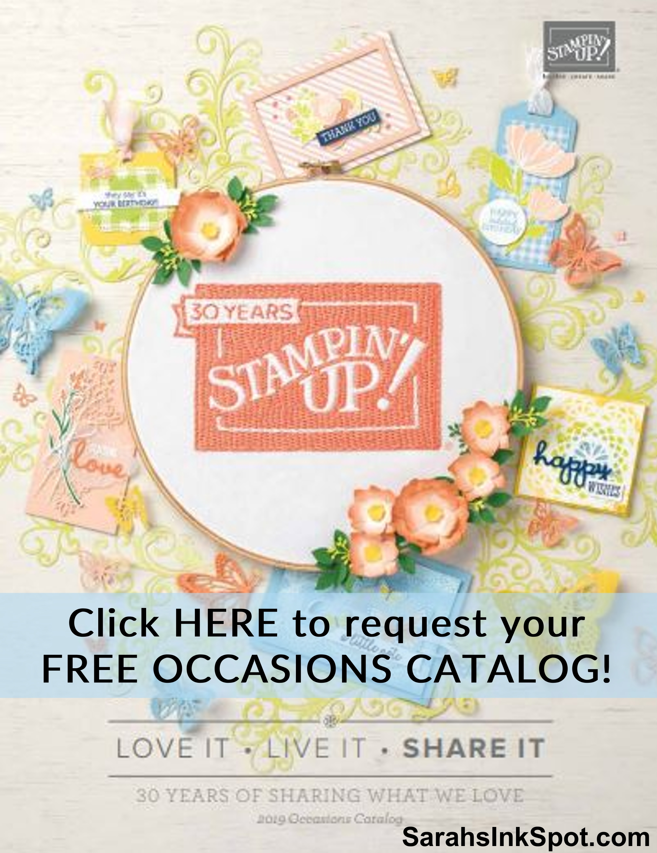 FREE Occasions Catalog: